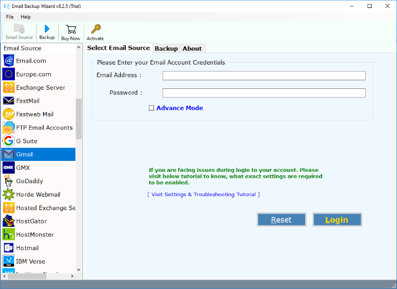 Import Gmail to Outlook with Gmail Files to PST Conversion Tool