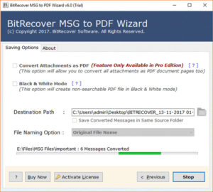 How to Transfer Outlook MSG to PDF without Adobe - Get